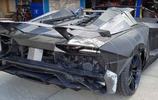 Lamborghini Aventador en 3D