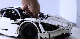 McLaren 720s con bloques Lego