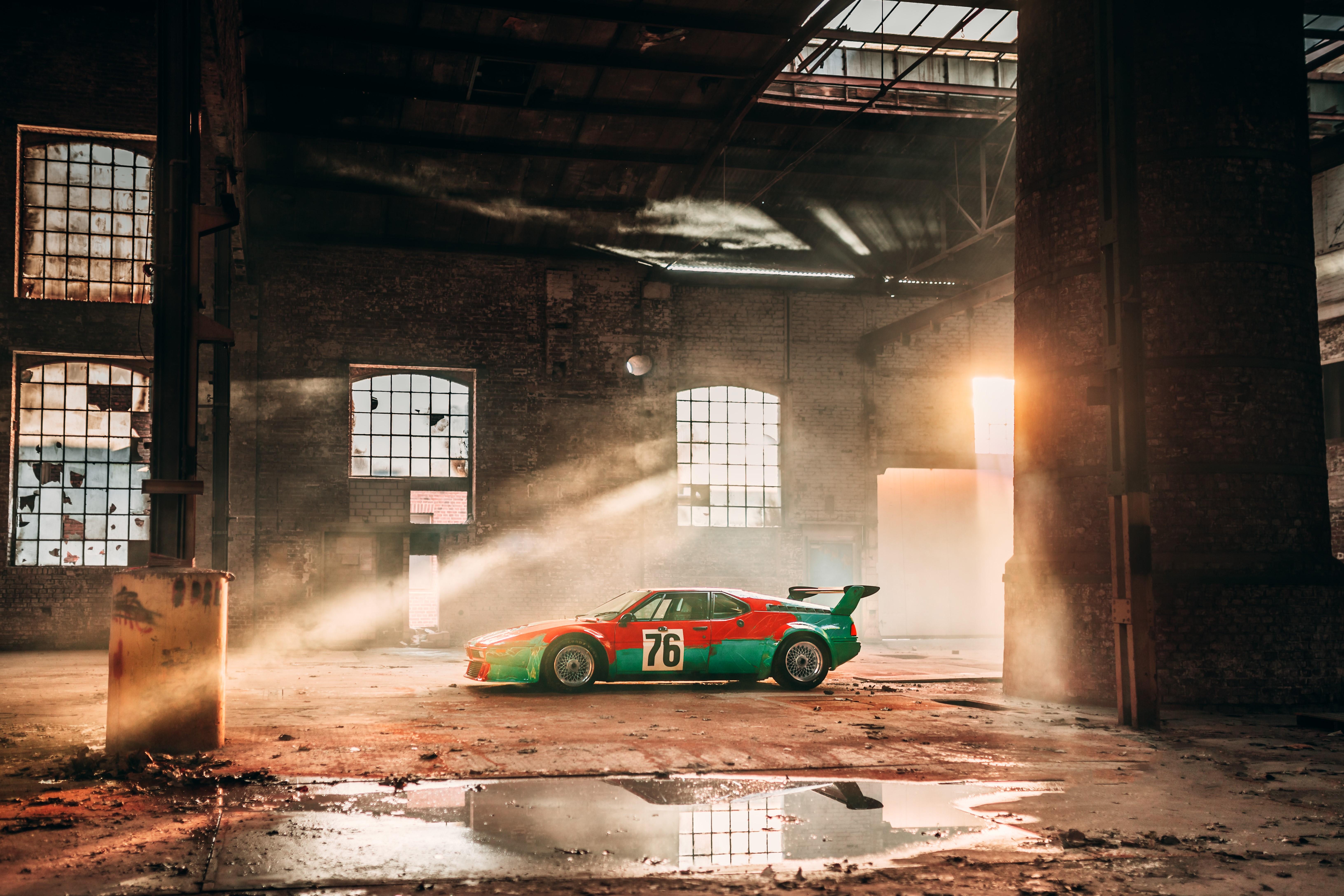 40 aniversario BMW M1 Art Car