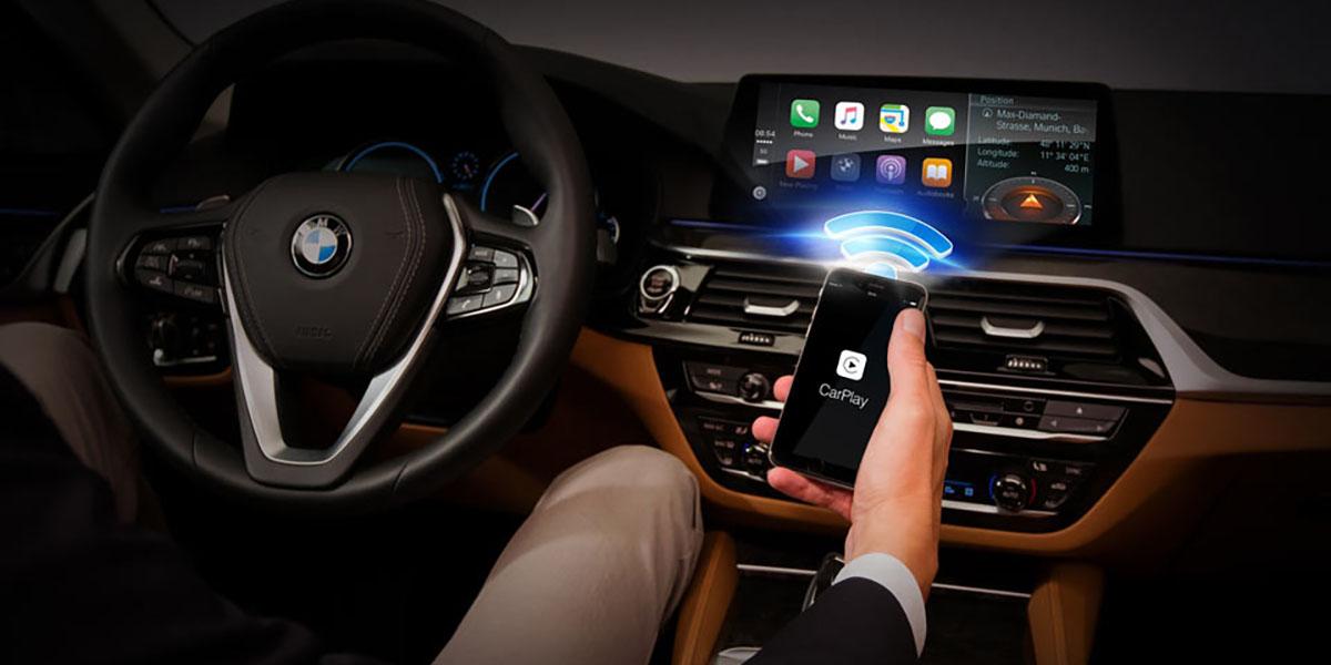 BMW cobra Apple CarPlay