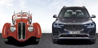 historia de la parrilla BMW