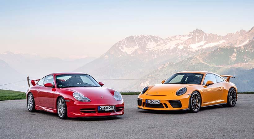 20 aniversario Porsche 911 GT3