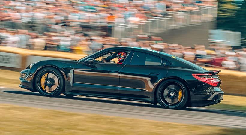 Test Drive Porsche Tycan 2020