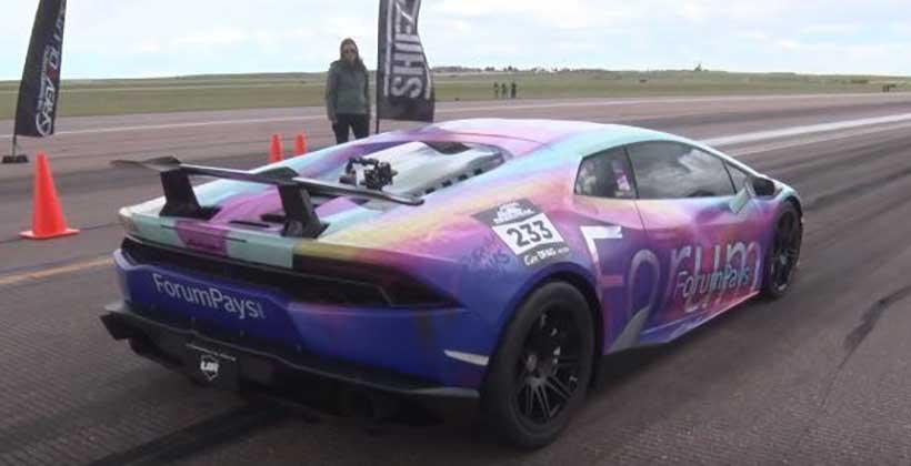 Lamborghini Huracán de 3,000 hp