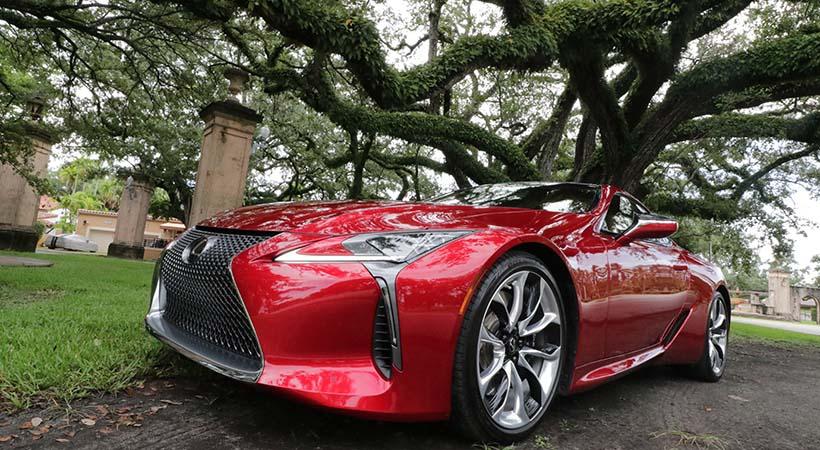 Test Drive Lexus LC500 2019