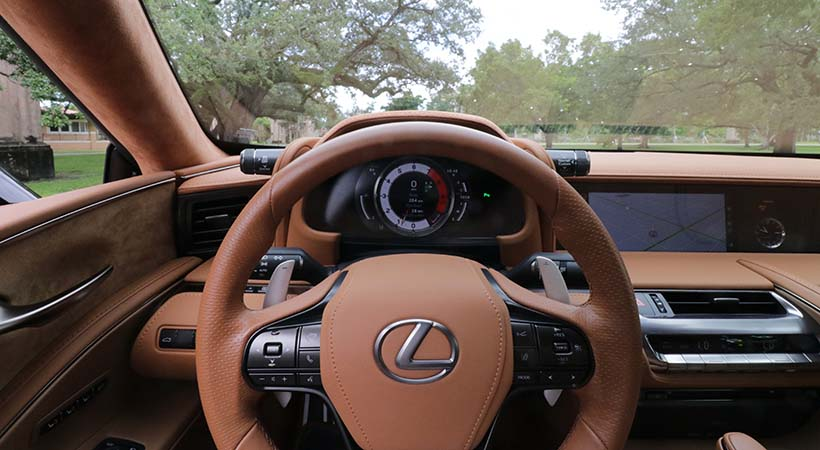 Test Drive Lexus LC 500 2019