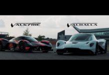 Aston Martin Valhalla debuta en pista