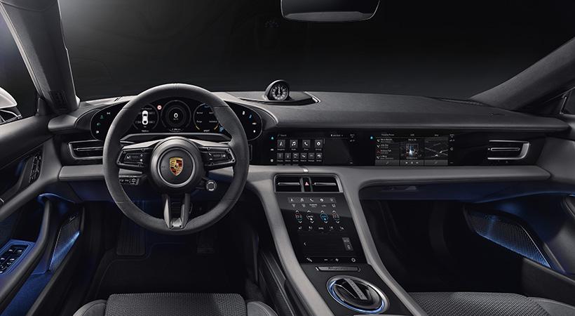 Interior Porsche Tycan 2020