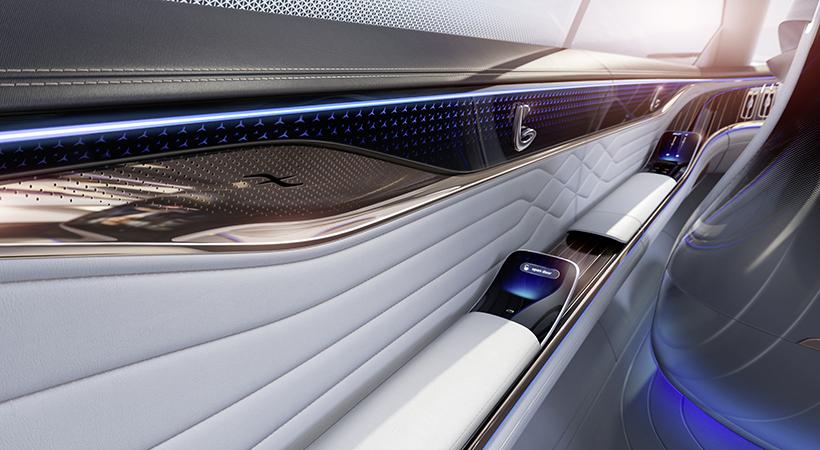 Mercedes-Benz Vision EQS, debut en el Auto Show Frankfurt 2019 - Autoproyecto