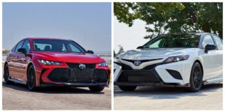 Toyota Camry y Avalon TRD 2020