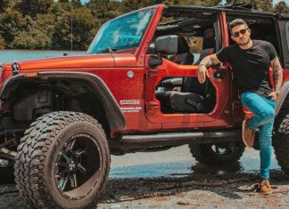Bestop modificó el Jeep Wrangler de Michael Ray