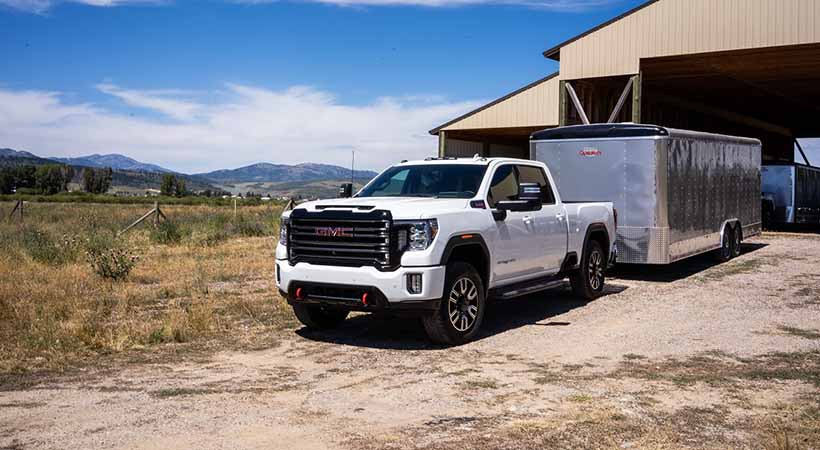 GMC Sierra 2500 y 3500 AT4 Heavy Duty 2020