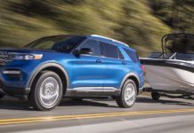 Ford Explorer Limited Hybrid RWD 2020