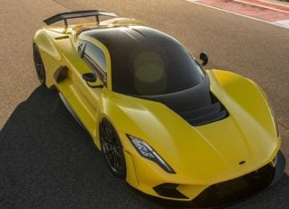 Hennessey Venoms F5 quiere batir el récord del Bugatti Chiron