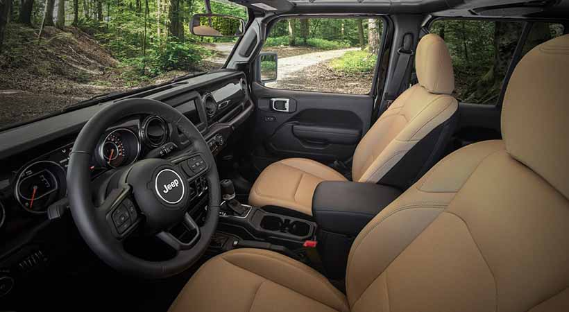 Jeep Wrangler Willys y Black & Tan 2020