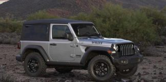 Jeep Wrangler Willys y Black & Tan 2020