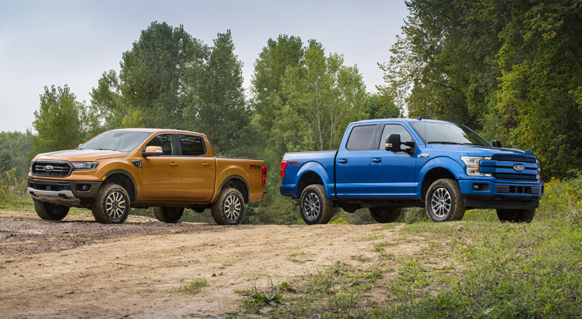 Kits Ford Performance para la Ranger y F-150; off-road sin límites