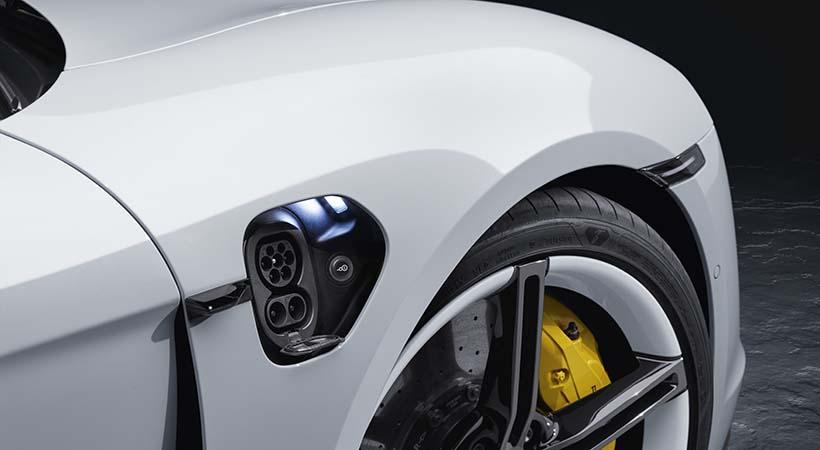 Triple Debut Porsche Tycan 2020