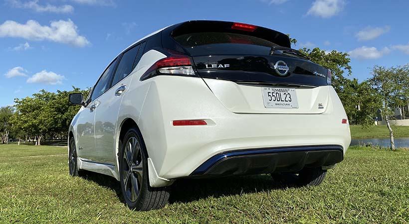 Test Drive Nissan LEAF SL Plus 2019