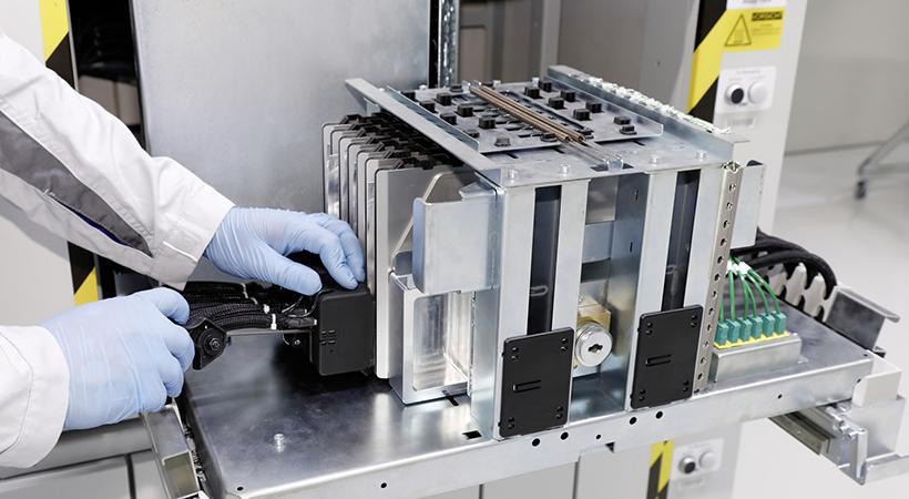 Grupo Volkswagen inició producción de baterías