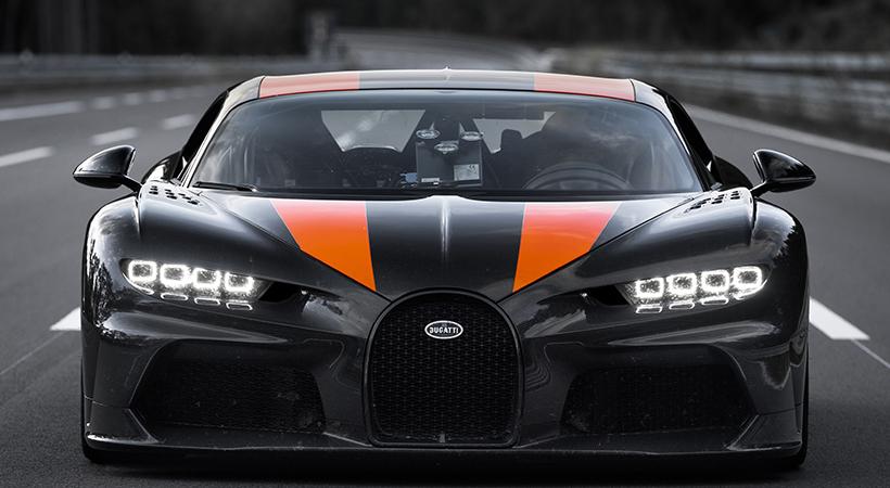 Bugatti Chiron récord