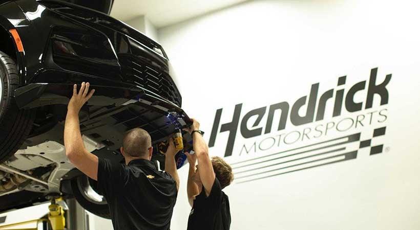 Chevrolet Camaro by Hertz y Hendrick Motorsport
