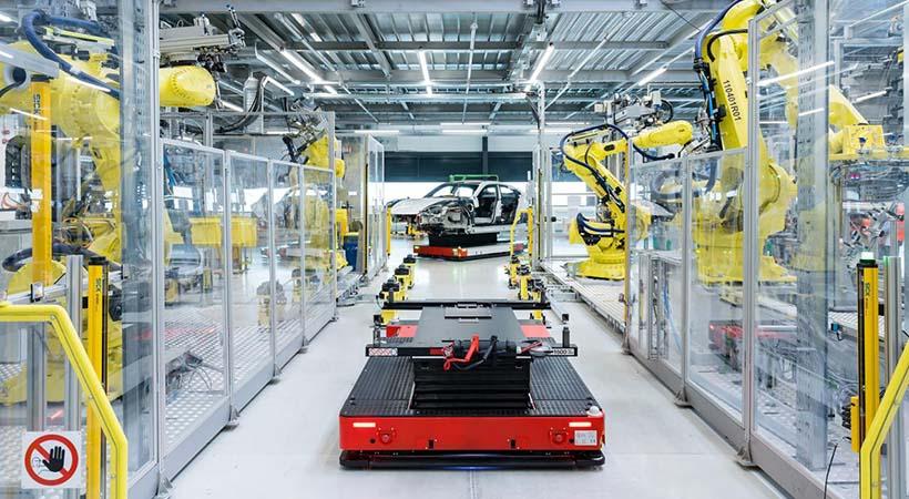 Producción Porsche Taycan 2020