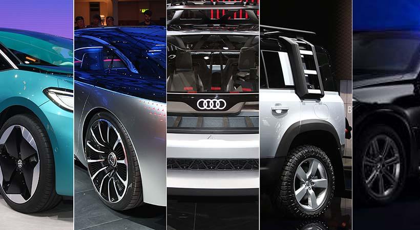 Top 5 debuts Auto Show Frankfurt 2019, diseño y tecnología