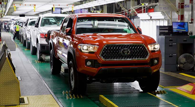 Planta Toyota San Antonio
