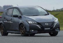 Nissan LEAF e+ estrena tracción AWD