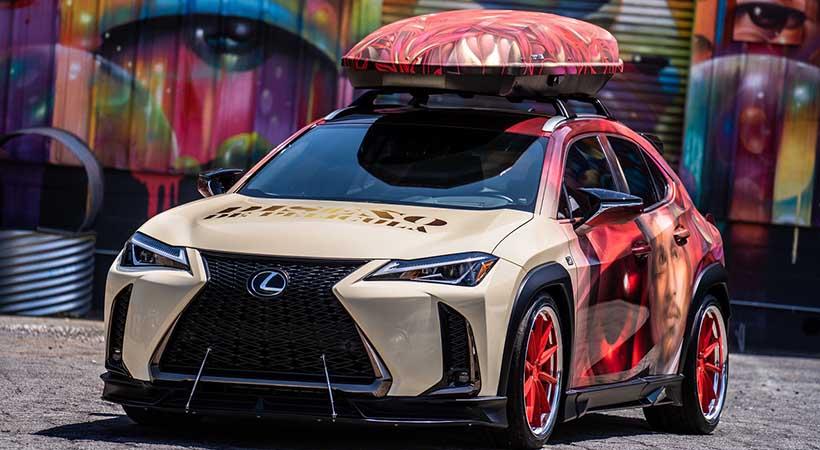 #LexusArtCar