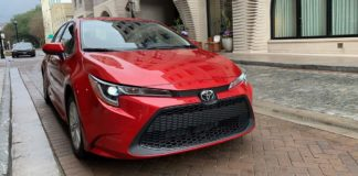 Toyota Corolla 2020, a prueba