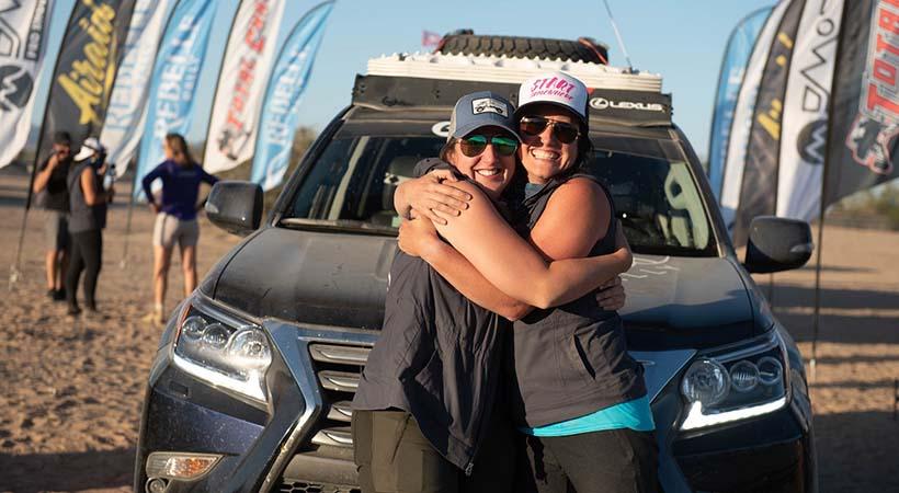 X Elles y el Lexus GX 460 dominan el Rebelle Rally