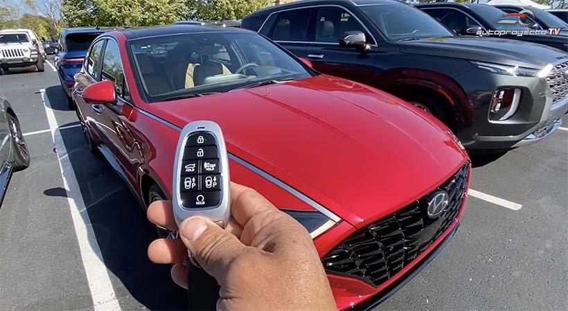 tecnologia hyundai digital key en el hyundai sonata 2020 autoproyecto hyundai sonata 2020