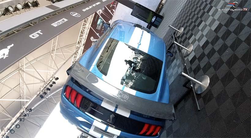 Partes y tecnología Ford Mustang Shelby GT 500 2020