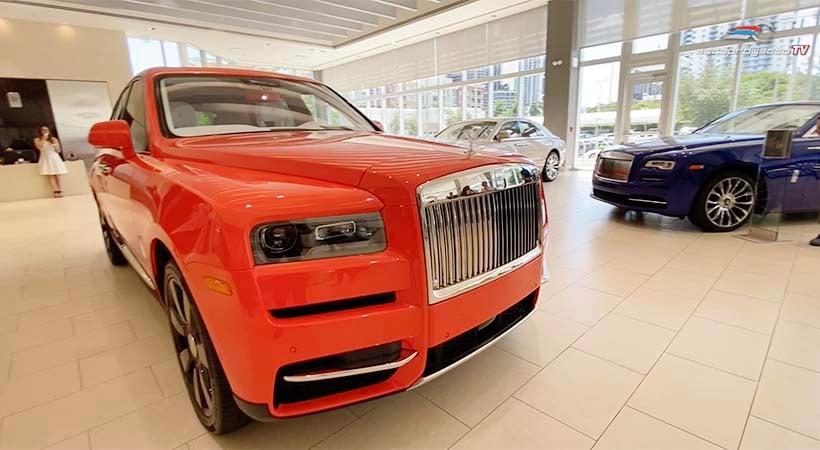 Rolls-Royce Cullinan Bespoke Fux Orange 2020