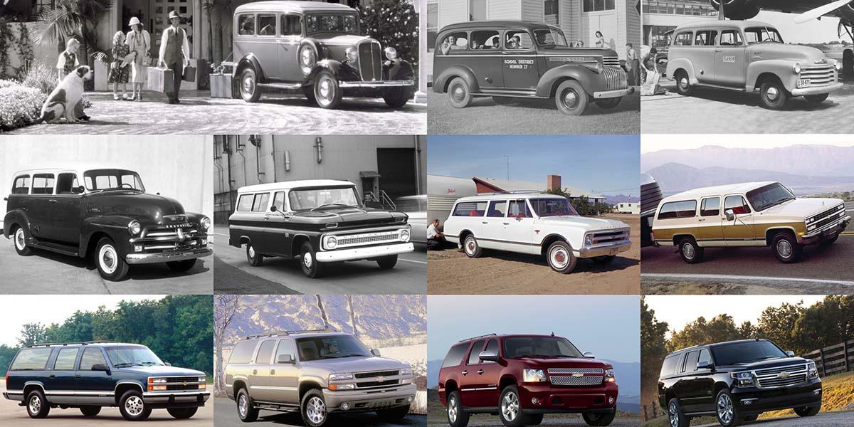 Chevrolet Suburban 85 Aniversario