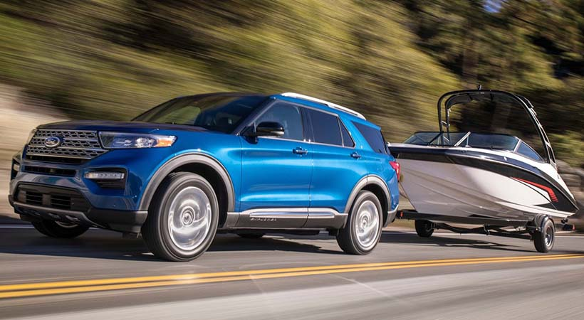 Ford Explorer Hybrid Limited 2020