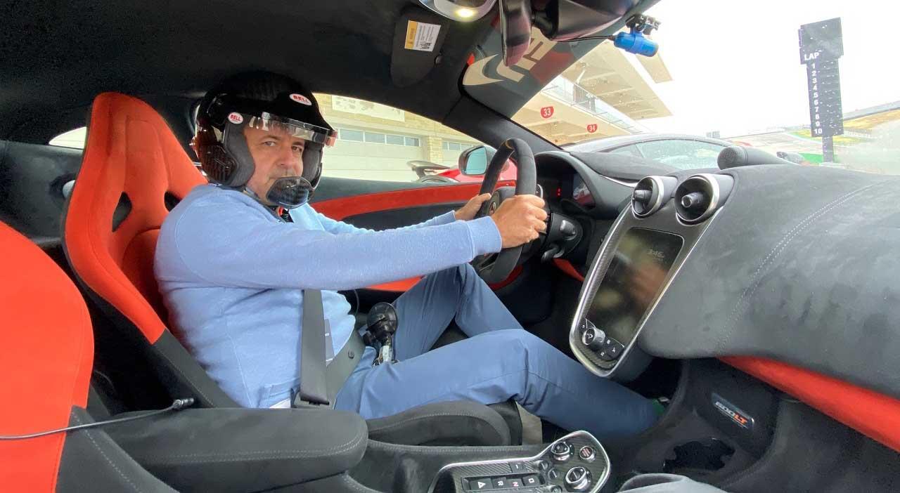 track day de McLaren