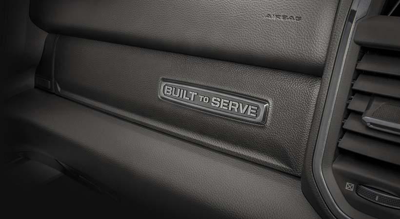 "Ram ""Built To Serve"""