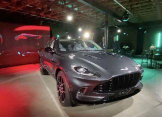 Video Aston Martin DBX 2020