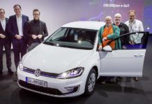 Volkswagen e-Golf 100,000