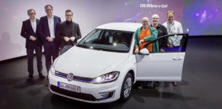 Volkswagen e-Golf 100,000
