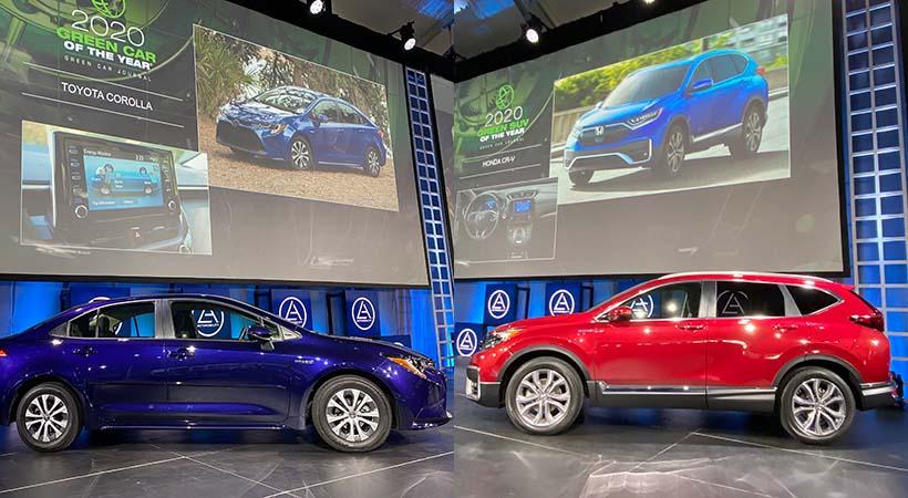 Auto y SUV Verde 2020