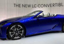Lexus LC 500 Convertible 2021
