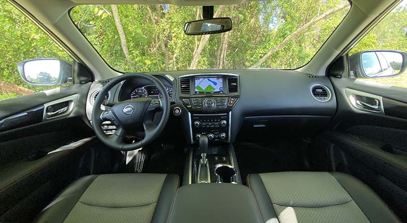 Test Drive Nissan Pathfinder Rock Creek 2020