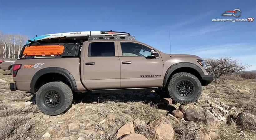 Nissan Titan Pro4x 2020