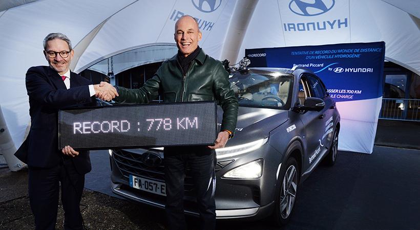 Record Hyundai Nexo