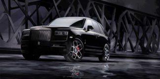 video Rolls-Royce Cullinan Black Badge