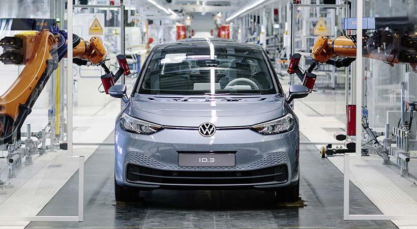 Arrancó era eléctrica VW
